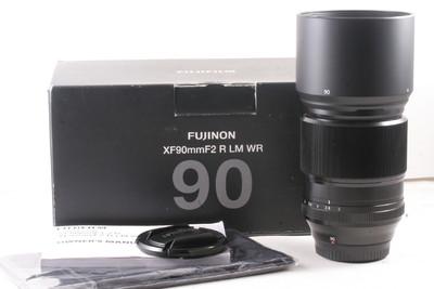 98/富士 XF 90mm f/2.0 R LR WR 极新成色 (带包装)