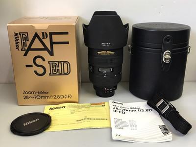 尼康 28-70mm f/2.8 ED带包装老镜皇专业镜头实价出