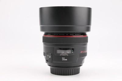 95新二手 Canon佳能 50/1.2 L USM 定焦镜头 高价回收768706成