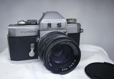 哈尔滨电表仪器厂,于1972年试制出熊猫牌DF相机。