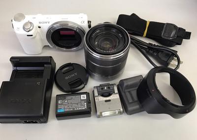 索尼 NEX-5R 微单数码相机套机带Wi-Fi底价出售