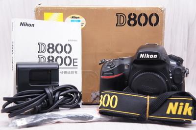 95新带包装 好友代卖 尼康 D800 单机身
