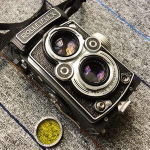 Rolleiflex/禄来 禄莱 3.5 MX EVS 胶片机120双反大中幅相机3.5T