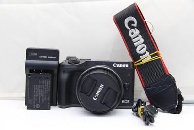 95新二手Canon佳能 M6 套(15-45)套机微单相机 009441 014757深