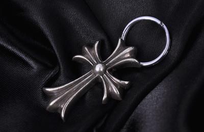 【经典】Chrome Hearts克罗心CH十字架钥匙扣06368