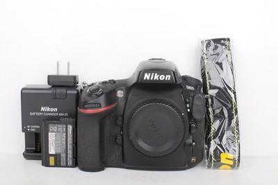 92新二手Nikon尼康 D800 单机 快门35588次 回收020712京