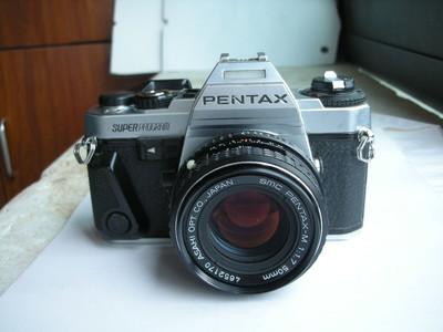 很新宾得超级程序型经典单反相机带50mmf1.7镜头,收藏使用精品