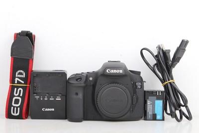 95新二手 Canon佳能 7D 单机 中端单反相机 回收 226558京