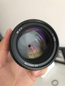 尼康 AF 85mm f/1.8D, nikon 85 1.8d 箱说全