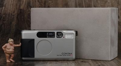 CONTAX T2 高档 袖珍 胶片机 带内盒 美品