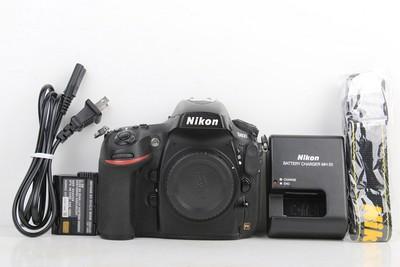 92新二手Nikon尼康 D800 单机 快门20160次 回收049915京