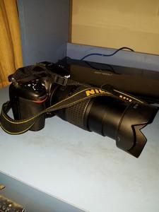 尼康 D7100加双镜头,狗东买的
