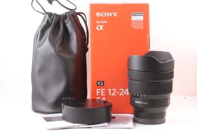 99/索尼 FE 12-24mm F4 G  全画幅超广角(全套包装)