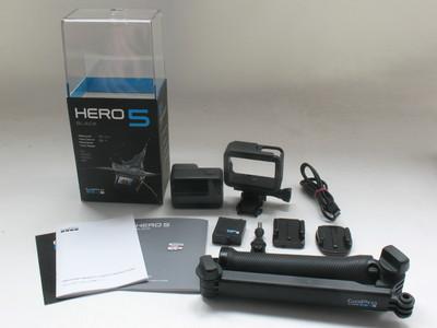 成色极好国行GoPro hero5 BLACK黑狗5 高清水下相机送卡带自拍杆