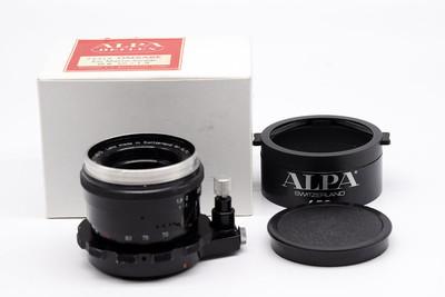 ALPA/阿尔帕  50/1.9 AR 带原厂遮光罩盒子#HK7824
