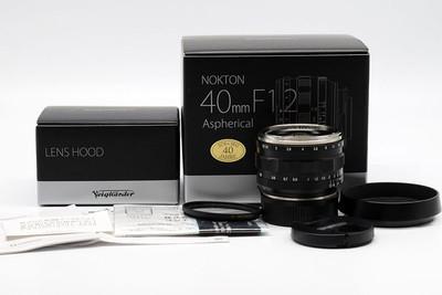 福伦达nokton 40/1.2 Aspherical VM Leica M 口ICS  HK7828