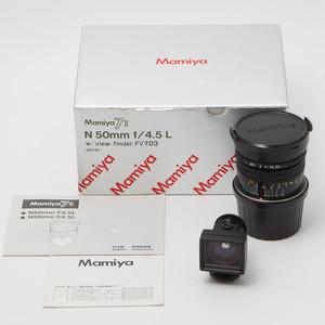Mamiya玛米亚 7或7II用镜头 N 50mm f/4.5 L 50/4.5 98新NO:1063