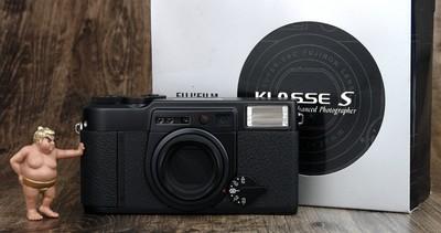 富士 KLASSE S 38mm f:2.8 月光机 箱说全 极美品