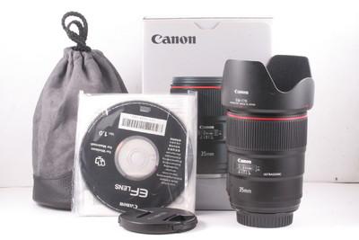 97/佳能 EF 35mm f/1.4L USM II 二代 极新净(全套包装)