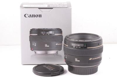 99/佳能 EF 50mm f/1.4 USM 极新净(全套包装)