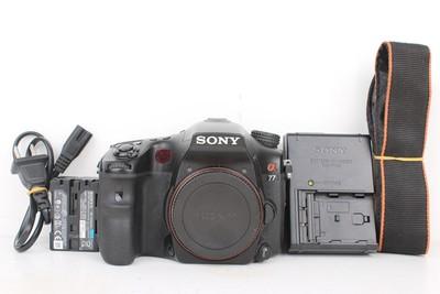 92新二手Sony/索尼 A77 数码相机 高价回收332245京