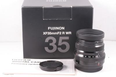 98/富士 XF35mmF2 R WR 定焦 ( 带包装 )