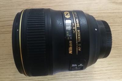 Nikon/尼康 AF-S Nikkor 35mm f/1.4G镜头 35 1.4G 99新