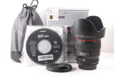 99/佳能 EF 24/1.4 L USM 二代 极新净(全套包装 )编号UC