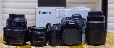极低价出:佳能 EF-S 15-85mm f/3.5-5.6 IS USM及450D相机等
