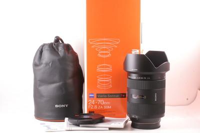 99/索尼 Vario-Sonnar T* 24-70mm f/2.8 ZA SSM (全套包装)