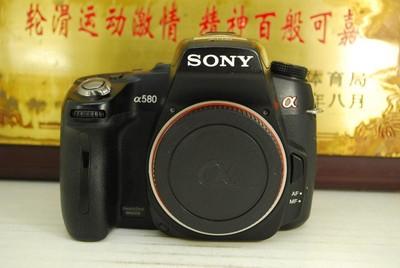 95新 索尼 a580 数码单反相机 1620万像素 翻转屏 入门 可置换