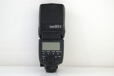93新二手Canon佳能 580EX II 闪光灯 回收适用于5D25D3 550981成