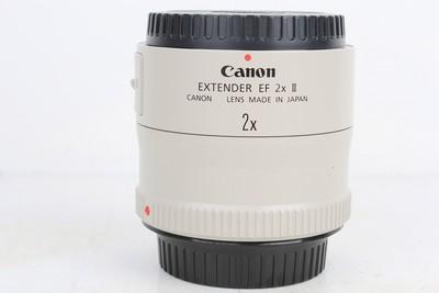 96新二手单反镜头 佳能 2X II 增距镜 2倍增倍镜置换 189265京