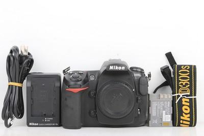 95新二手Nikon尼康 D300S 单机 快门8567次 回收033609京