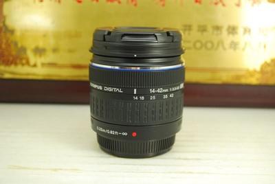 97新 奥林巴斯 ZUIKO 14-42 F3.5-5.6 ED 单反镜头 广角中焦挂机