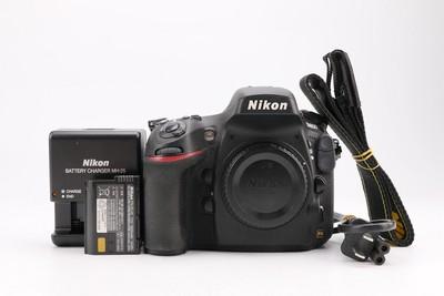 97新二手Nikon尼康 D800 单机 快门36157次 回收012235津