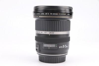 96新二手Canon佳能 10-22/3.5-4.5 USM 广角镜头 回收603980津