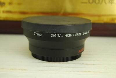 卓美 ZOMEI 0.43X 广角微距附加镜 放大增倍镜 62mm口径 微距近摄