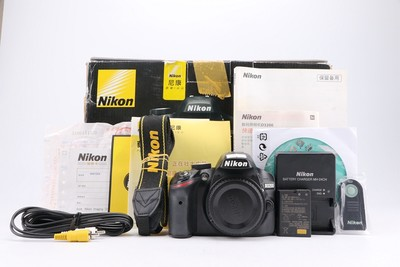 93新二手 Nikon尼康 D3200 单机 快门10116次回收置换 497224津
