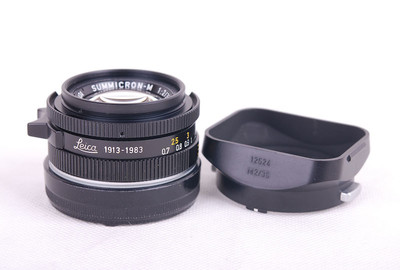 收藏品70周年限量版徕卡Summicron-M 35/2 黑色镜头33053