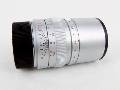 华瑞摄影器材-徕卡Leica Elmarit-M 90/2.8 银色