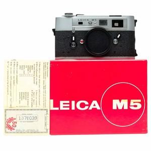 少见!银色50周年纪念版! 徕卡 Leica M5 新品库存 带包装