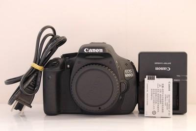 95新二手 Canon佳能 600D 单机 入门单反求购 072638成