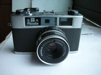 很新凤凰205B金属制造旁轴相机,收藏使用