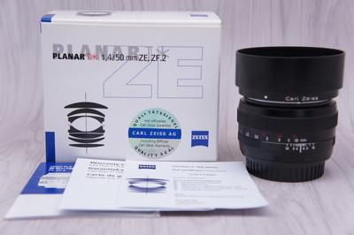 97新 卡尔·蔡司 Planar T* 50mm f/1.4 ZE佳能口 蔡司50/1.4