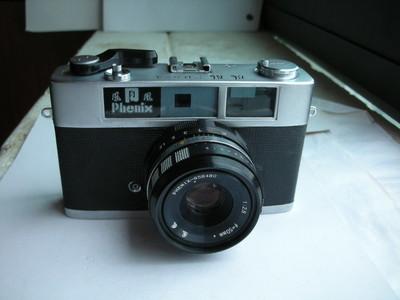 很新凤凰205A金属制造旁轴相机,收藏使用