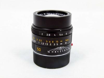 华瑞摄影器材-徕卡Leica APO Summicron-M 50/2 ASPH 黑色