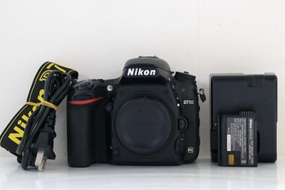 95新二手Nikon尼康 D750 单机 快门12000次高价回收 501837成