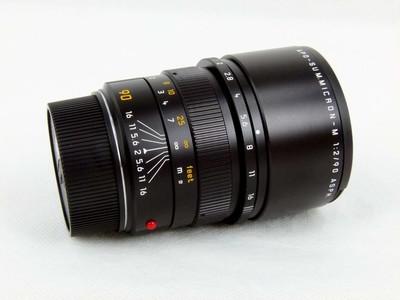 华瑞摄影器材-徕卡Leica APO-Summicron-M 90/2 Asph 黑色