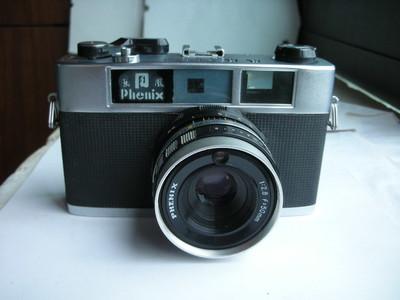 很新凤凰205B金属制造旁轴相机,有测光,收藏使用